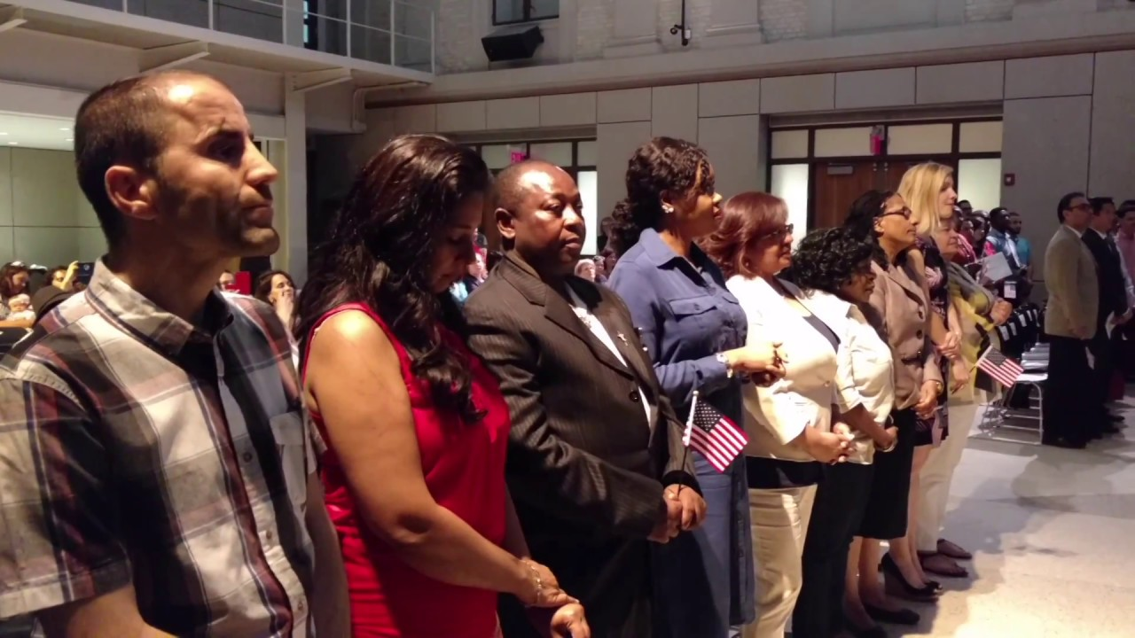 Naturalization Oath Ceremony - 2017, Montclair, NJ