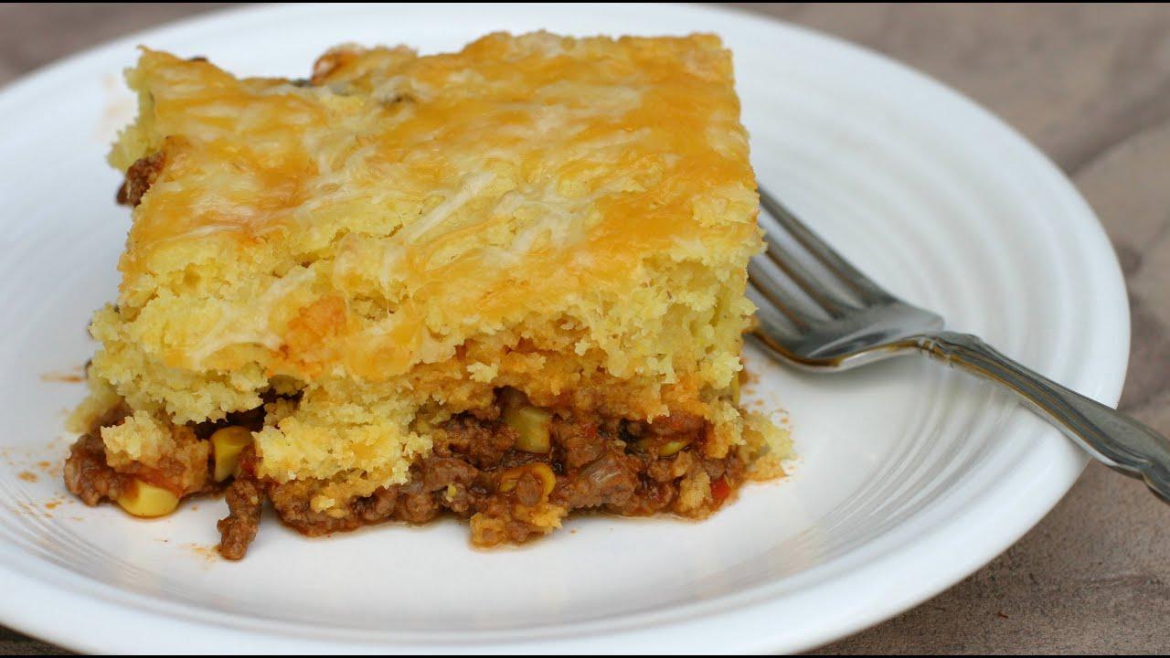 recipe: mexican cornbread casserole recipe ground beef [8]