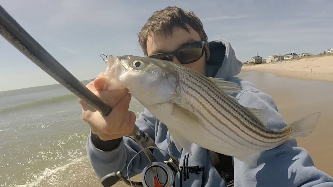 Light tackle early spring surf casting rhode island 4 16 for Striper fishing ri