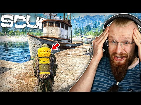 I Found An Isolated Fishing Port With Tons Of Food! - SCUM
