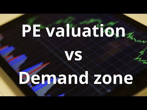 Stocks Pe Vs High Demand Zone