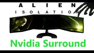 Alien Isolation 6070x1080 Nvidia Surround Ultra