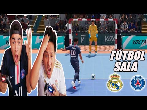 DUELO ÉPICO DE FÚTBOL De SALA | PSG Vs REAL MADRID *final En Penaltis*