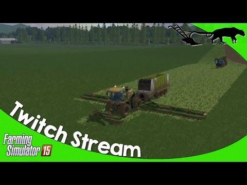 Twitch Stream: Farming Simulator 15 PC Open Server Cherry Hill 09/17/2016 P5