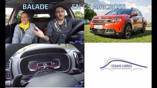 LONGUE DISTANCE EN CITROEN C5 AIRCROSS ESSENCE 180CH SHINE