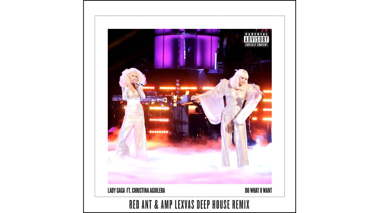 Lady Gaga ft. Christina Aguilera  — Do What U Want (Red Ant & Amp Lexvas Deep House Remix)