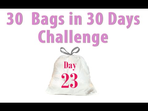 30 Bags in 30 Days || Declutter Challenge || Day 23