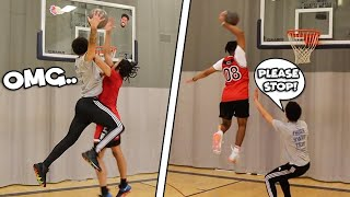 The Mini-Hoop POSTERIZED Dunk Challenge! *NEW GAME ALERT*