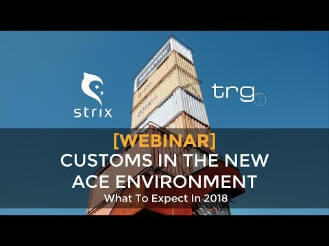 Customs in the New ACE Environment: What to Expect in 2018 [Full Webinar]