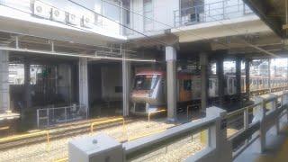 東急6000系 6101F  急行中央林間行き 長津田駅到着