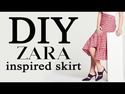 Recreating this ZARA Wrap Skirt | MAKE THRIFT BUY #66