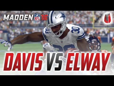 1998 BRONCOS SHOWDOWN - John Elway vs. Terrell Davis! - Madden 16 Ultimate Team Gameplay