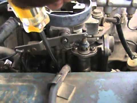 CARBURACION 02; carburador de dos gargantas