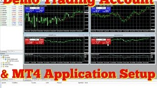 Setting up Demo Account & MetaTrader 4