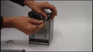 Folding Firebox Camp Stove Instructional Video.