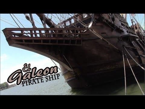 Real Life Pirate Ship! - El Galeon - Spanish Merchant Ship - Matt