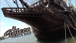 Real Life Pirate Ship! - El Galeon - Spanish Merchant Ship - Matt's Rad Show