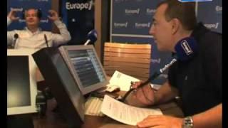 Cauet dans le Grand Direct de la Télé de Jean-Marc Morandini