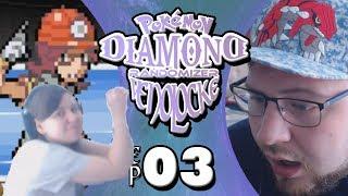 HUGO RAPPING?!?! | Pokemon Diamond Randomizer Venolocke w/ EliteTrainerHugo #3