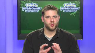 Pokemon Interview With Seth McMahill About Pokemon Dungeon Gates to Infinity