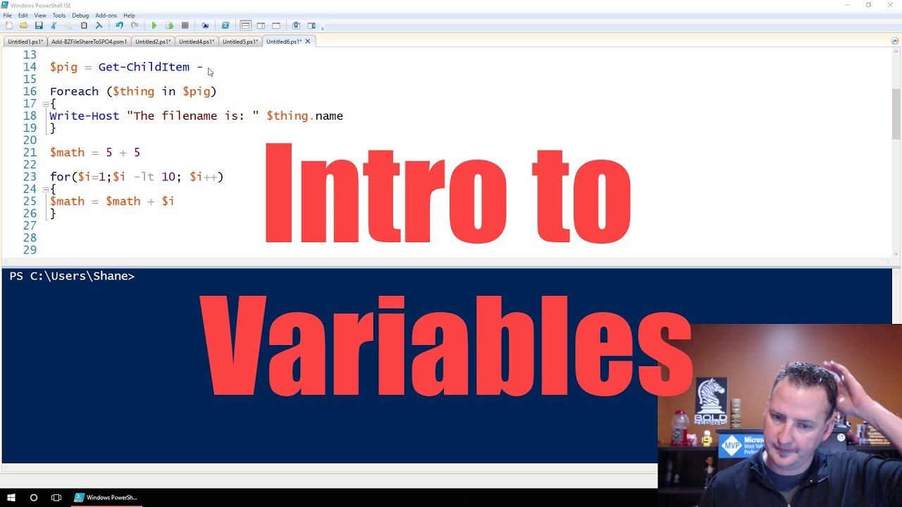 PowerShell Variables Explained