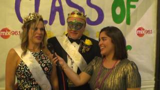 The 2017 Prom Night Do Over Party King and Queen