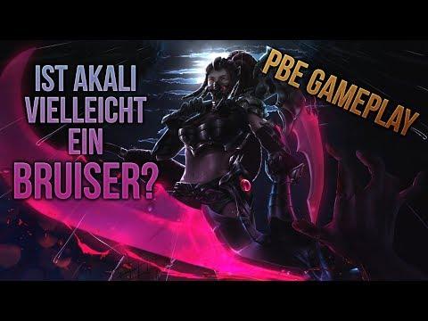 Ist das Akali Rework vielleicht ein Bruiser? PBE Gameplay [League of Legends] [Deutsch / German] thumbnail