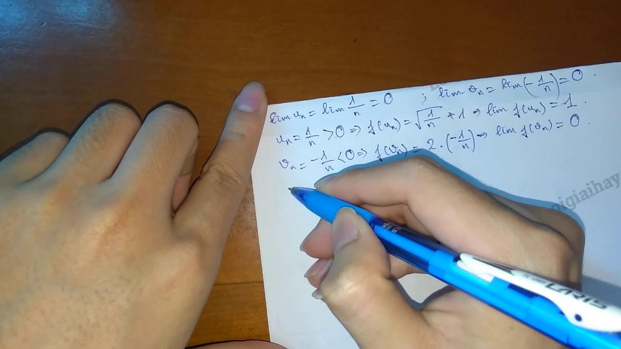 Giải bài 2 trang 132 SGK Đại số và Giải tích 11