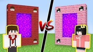 도티포탈 vs 퀸톨포탈 [정말 신기한 꿀잼 포탈.. 어떤 포탈이 더?? 투표하세요!] 퀸톨 고요 짱돌 쫀득