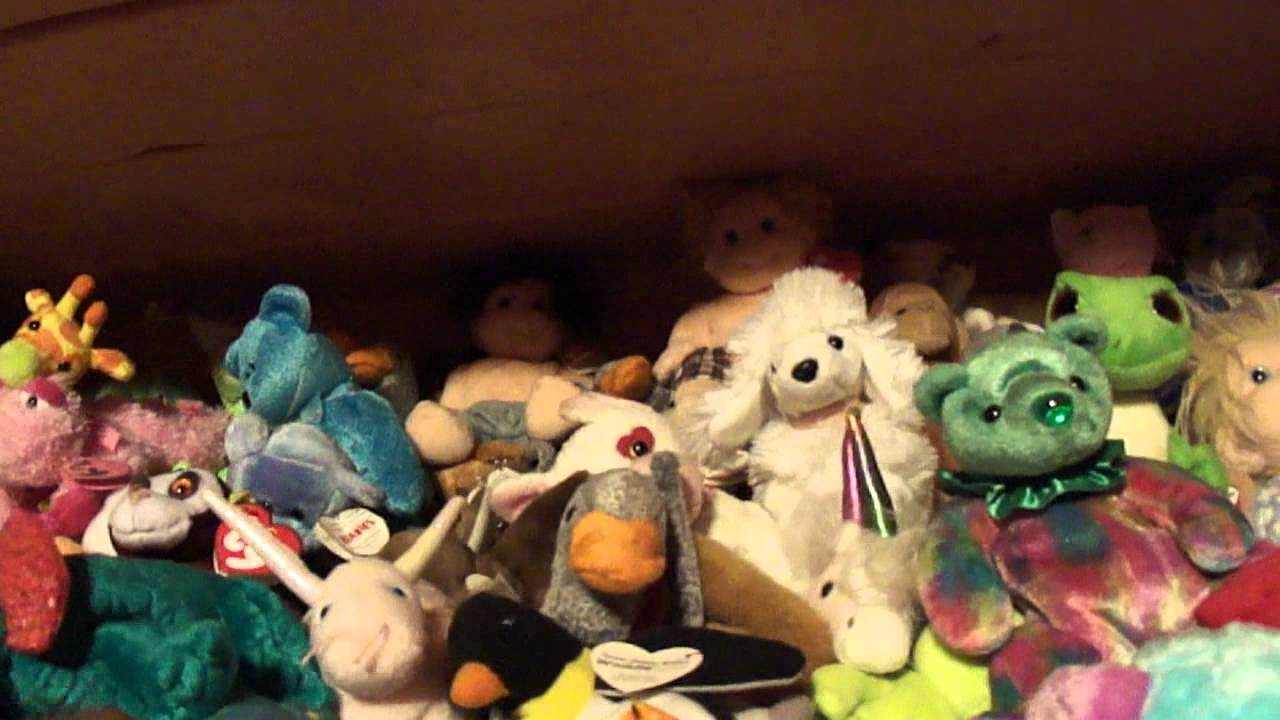 beanie baby collection youtube. Black Bedroom Furniture Sets. Home Design Ideas