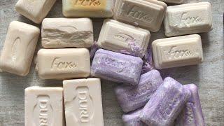 ASMR SOAP # 81 /Super super dry soap/Супер сухое мыло из экономупаковки
