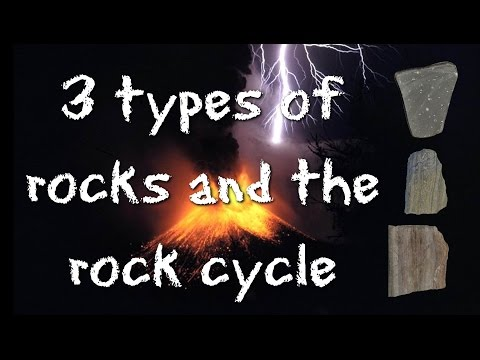 3 Types of Rocks and the Rock Cycle: Igneous, Sedimentary, Metamorphic - FreeSchool