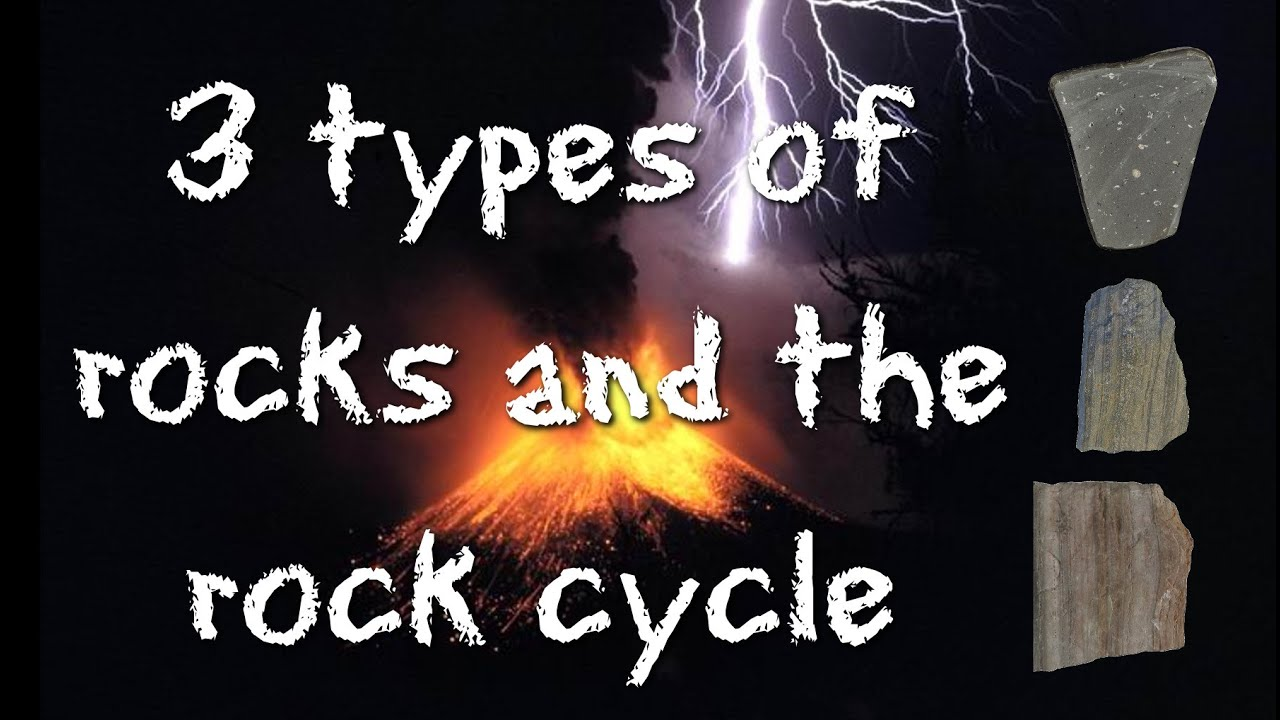 3 types of rocks and the rock cycle igneous sedimentary metamorphic freeschool [ 1280 x 720 Pixel ]