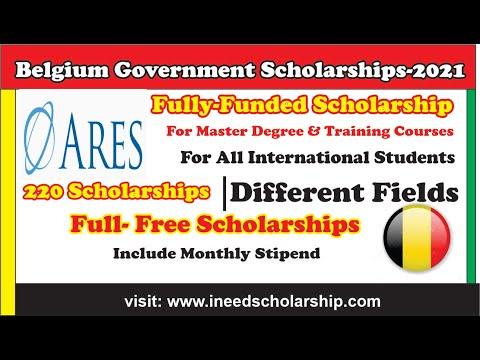 Belgium Government Scholarships 2021-Free study in Belgium