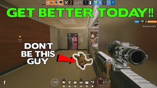 The Easiest Way to Get Better at Rainbow Six Siege Today!