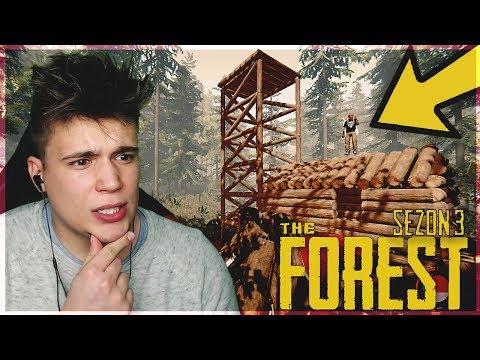 Rozbijamy obóz w lesie! 🌳 - The Forest #1 [SEZON 3]