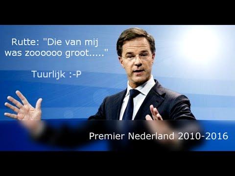 Manamana megalomanie (ex-) premier Rutte 2010-2016