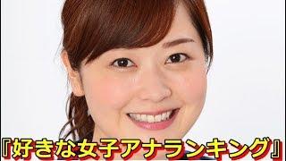 「好きな女性アナウンサー ランキング」5連覇を 達成した日本テレビ・ ...
