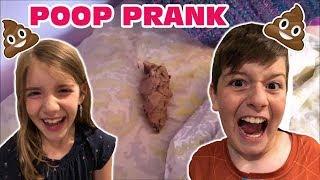 Kid Temper Tantrum Pranks Sister With FAKE Poop: Deleted Video [Original]