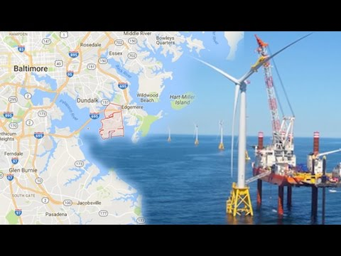 Maryland Might Be Home to the Largest Offshore Wind Farm in the US