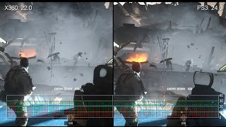Battlefield 4: Xbox 360 vs. PS3 Gameplay Frame-Rate Tests