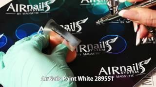 Аэрография на ногтях с Airnails(Аэрография на ногтях с Airnails. Выполнить дизайн ногтей в стиле маникюр омбре теперь еще проще! Вам понадобятс..., 2016-04-08T07:04:41.000Z)