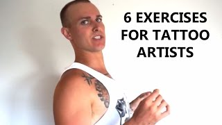 6 Exercises for Tattoo Artists - RELAX your back and neck muscles
