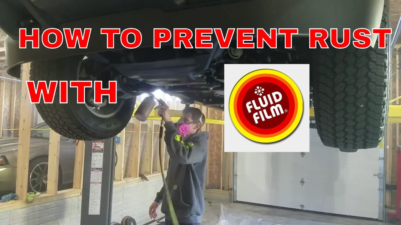 How To Undercoat Your Car With Fluid Film