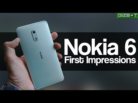 Nokia 6 First Impression - GIZBOT