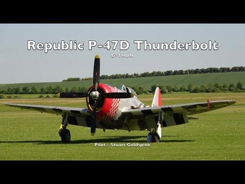 Republic P-47D Thunderbolt 'Nellie' G-THUN