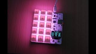 kbord: Scriptable mechanical keypad with RGB backlight