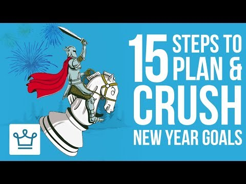 15 Steps to Plan & Crush Your New Year Resolutions