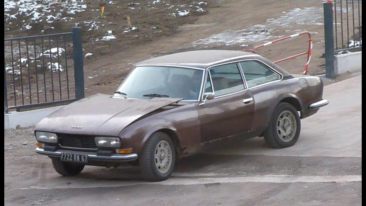 Peugeot 504 Coupe V6 Youtube