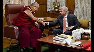 Dalai Lama Meets With US Ambassador to India,Hk Reading Book,